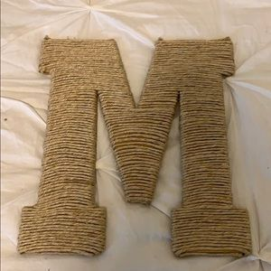 "Other - 🏷 3/$12🏷 Twine wrapped ""M"""